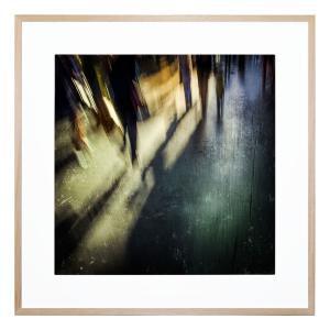 Nice Evening Walk Through The City Centre - Framed Print