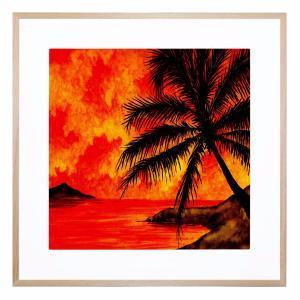 Hot Summer Night - Framed Print