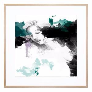 Rainstorm - Framed Print