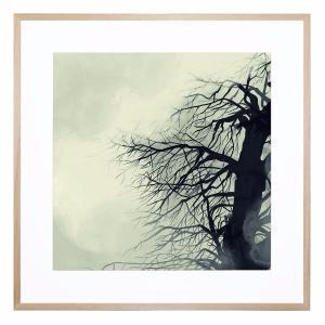 Night Falls - Framed Print