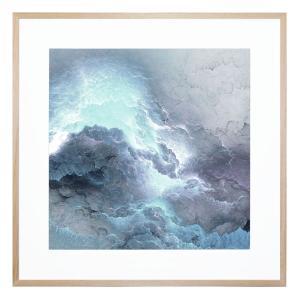 Soft Stormfront - Framed Print