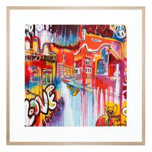 Streets Ahead - Framed Print
