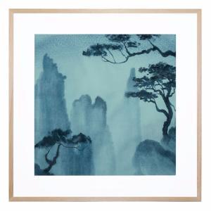 Blue Mist - Framed Print