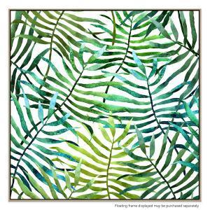 Leafy Glow - Canvas Print