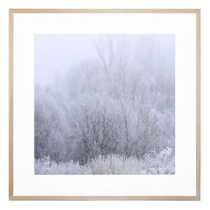 Hinterland Frost - Framed Print