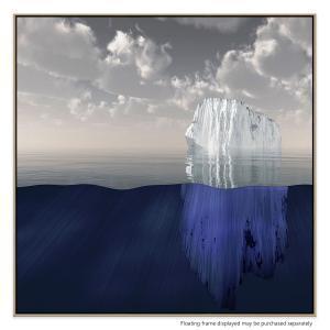 Glacier Extraction - Canvas Print