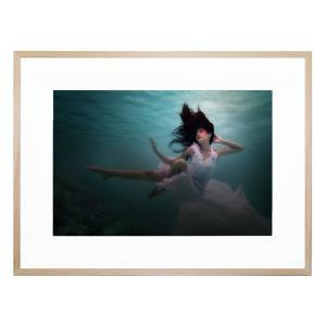Beneath The Sea - Framed Print