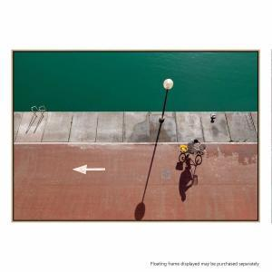 In Bici - Canvas Print