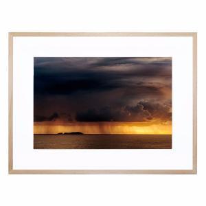 Daybreak Storm - Framed Print