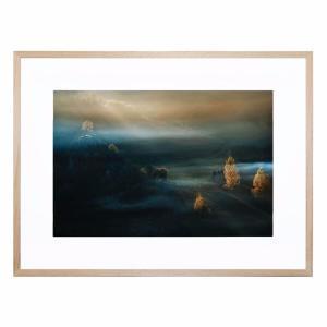 Fundatura Ponorului - Framed Print