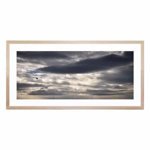Threatening Clouds - Framed Print