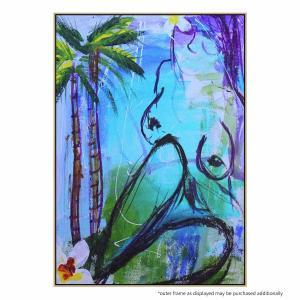 Dreaming Palms - Painting