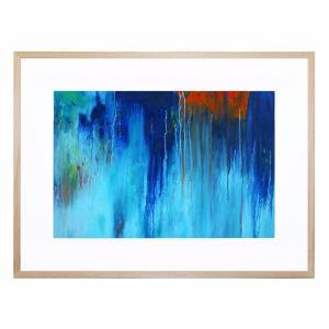 Fire and Ice 2 - Framed Print