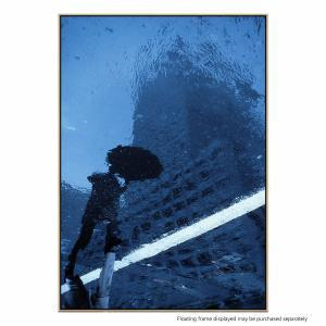 Swinging in the Rain - Canvas Print