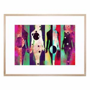 Body Language 16 - Framed Print