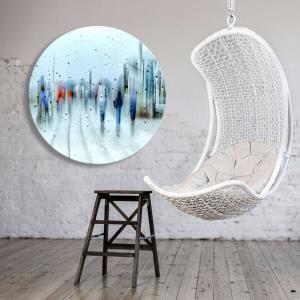 It's Raining - Acrylic Art