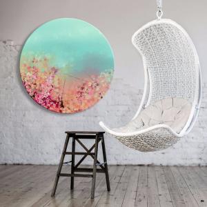 Fortuna Bloom - Acrylic Art
