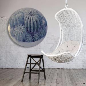 Cactii Plus One - Acrylic Art