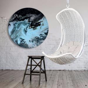 Ultramarine - Acrylic Art