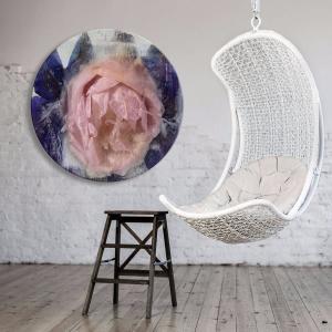 Rose Saratoga - Acrylic Art
