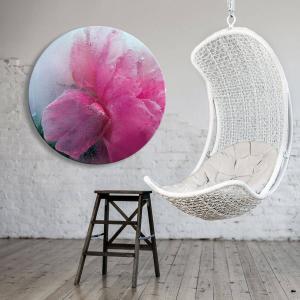 A Petal In Time - Acrylic Art