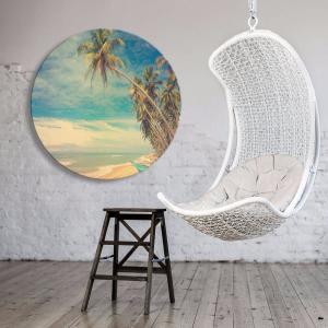 Beach Vintage 3 - Acrylic Art