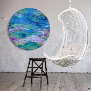 A Touch Of Monet - Acrylic Art