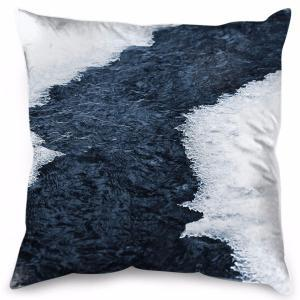 Ice and River - Cushion
