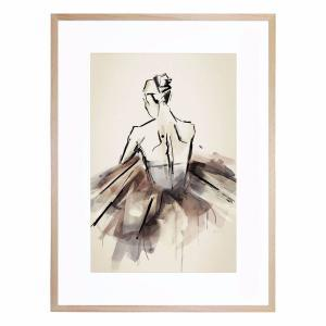 The Ballerina - Framed Print