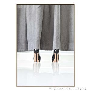 Behind the Curtain - Canvas Print