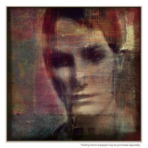 A Quiet Darkness (Portrait) - Canvas Print