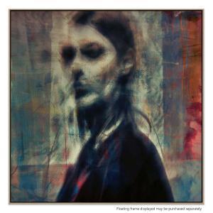 A Quiet Darkness (Portrait) 2 - Canvas Print