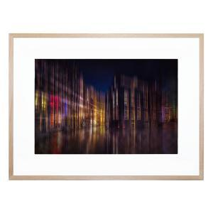 Colourful Amsterdam - Framed Print