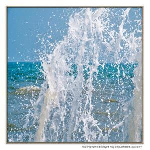 Great Splash - Canvas Print
