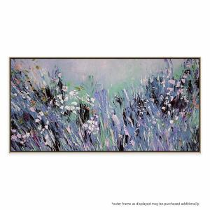 Blooms And Fields - Painting