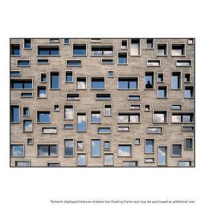 68 Windows - Canvas Print