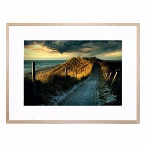 Cold Fence - Framed Print
