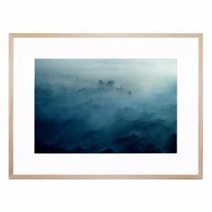 Land of Fog - Framed Print