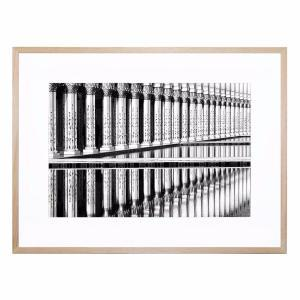 Pillar Reflection - Framed Print