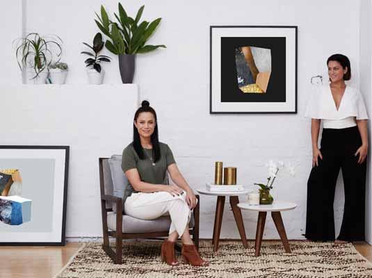 Alisa & Lysandra Framed Print Collection