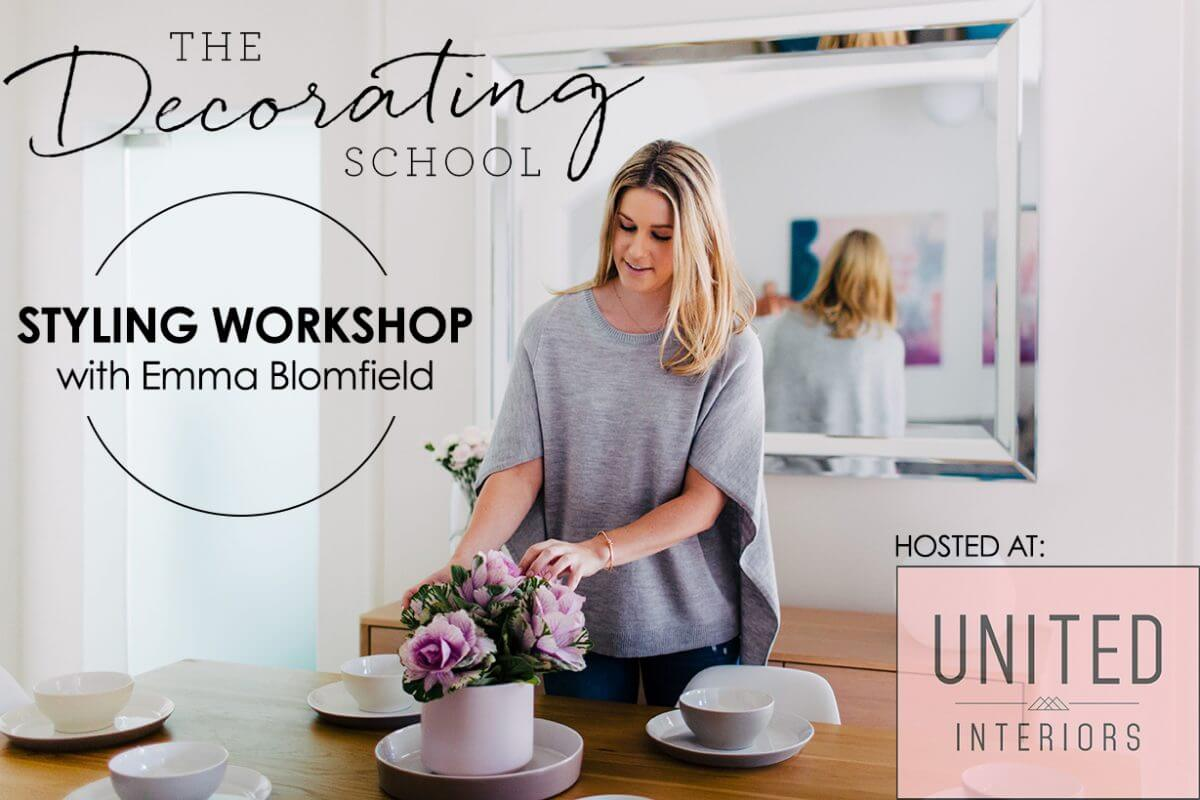the decorating school emma blomfield workshop united interiors