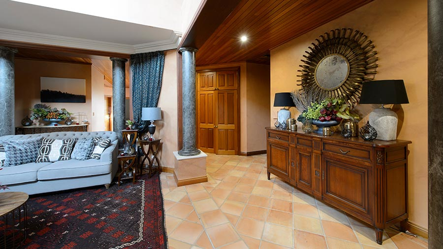 a-desert-beyond the bachelor the bachelorette au mansion interiors artwork