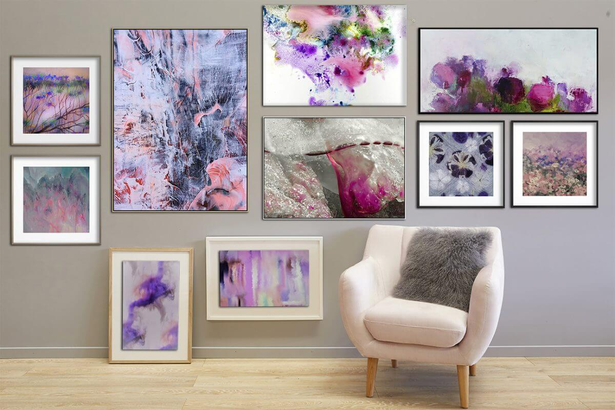 gallery wall united interiors mood boards