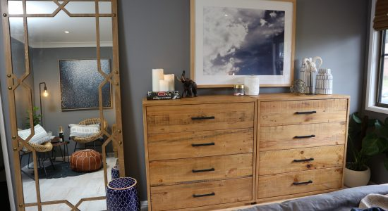 Designer James Treble's winning bedroom – As seen on The Living Room