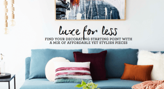 Luxe For Less: United Interiors featured in Home Beautiful magazine