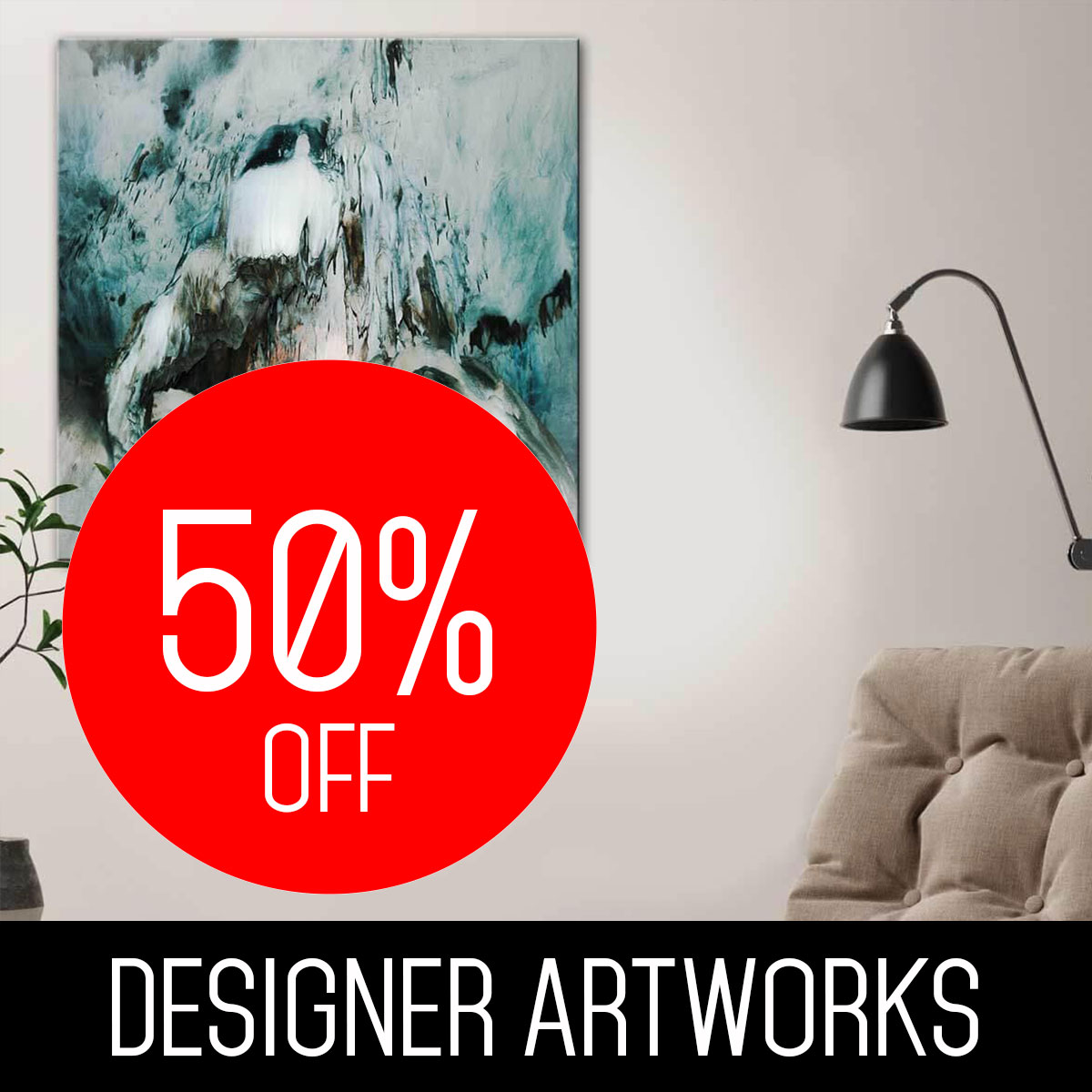DESIGNER ARTWORKS CANVAS PRINTS
