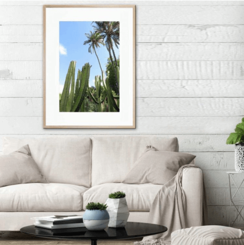 JD photographic framed print