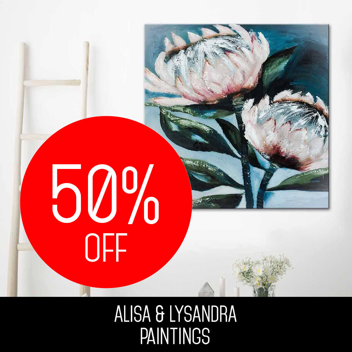 ALISA & LYSANDRA PAINTINGS