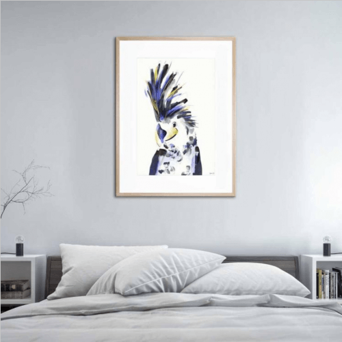 uk artist green lili now at united interiors new collection artwork bird print animal flora fauna abstract