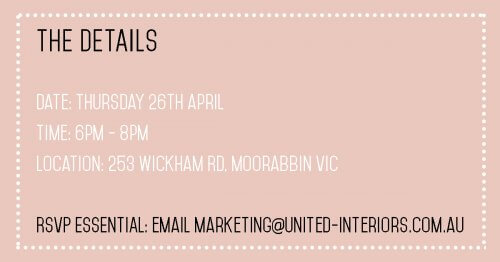 vip shopping night united interiors april 2018